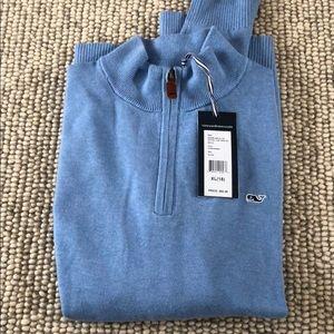 Boys vineyard vines quarter zip sweater